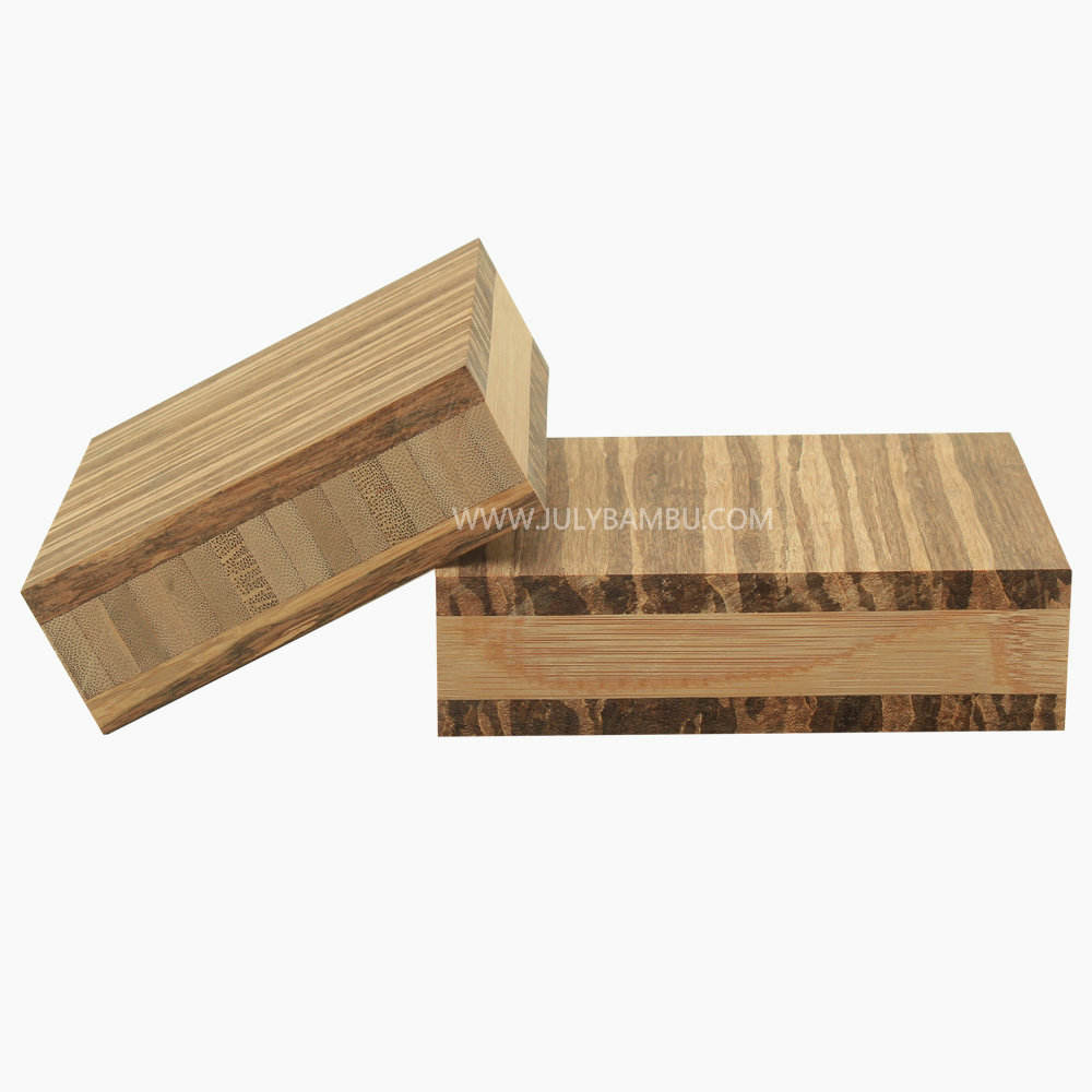 100% Solid Tiger Strand Bamboo Table Top make of Bamboo Wood Timber
