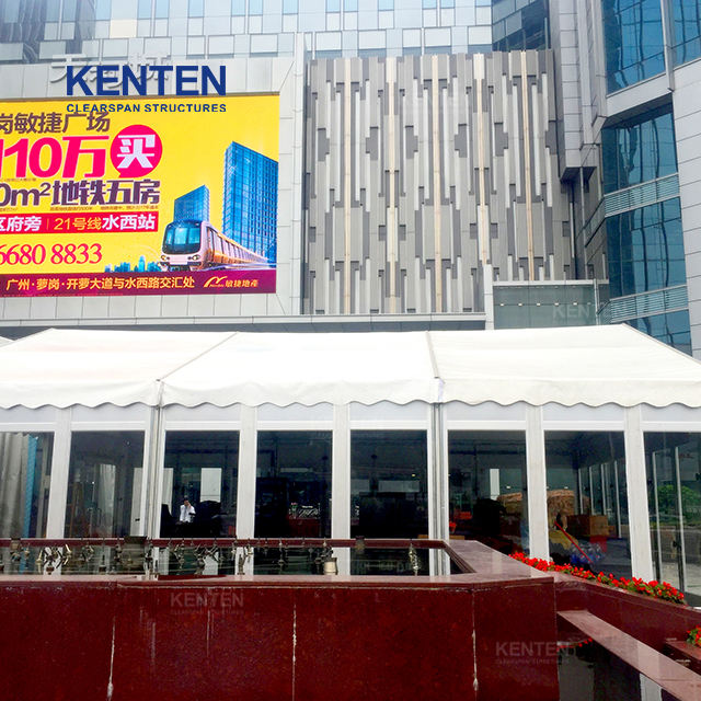KENTEN hot bottom price sports event party pvc hardware sandwich board warehouse activity Tent for Warehouse