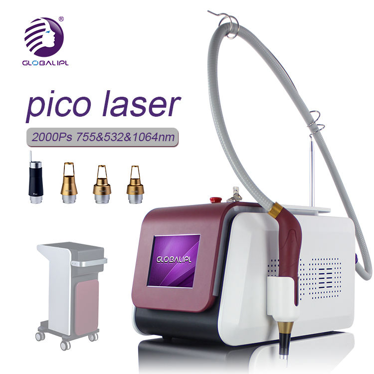 TUV CE FDA Approve !! Laser Tattoo Removal Freckle Pigmentation / 1064nm 532nm 755nm Picosecond Laser