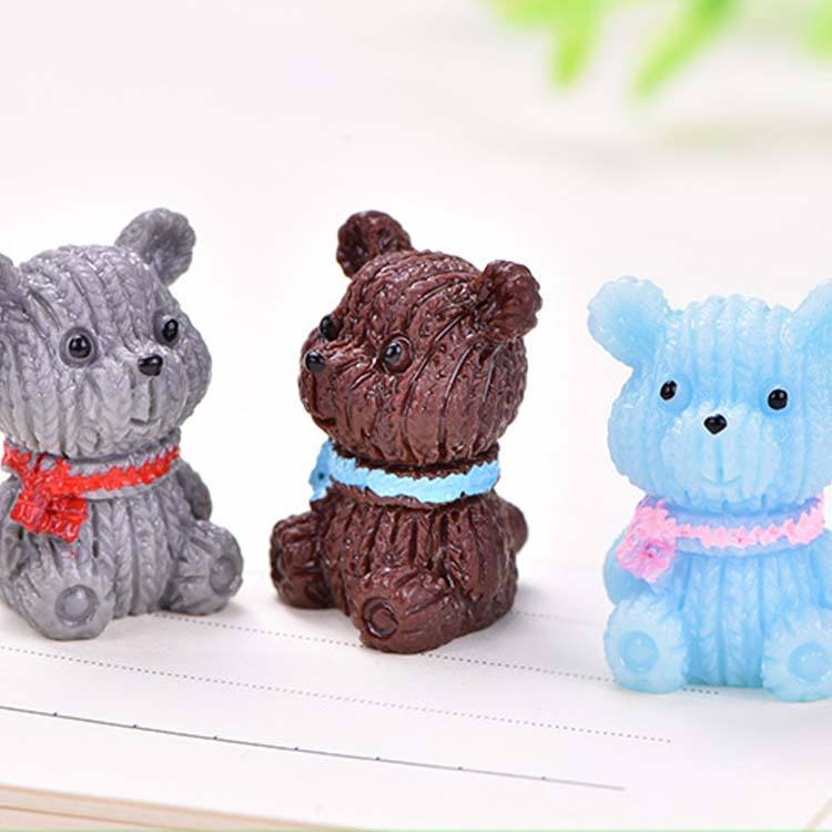 Landscape ornaments creative accessories lots of animals bear resin parrot figurine