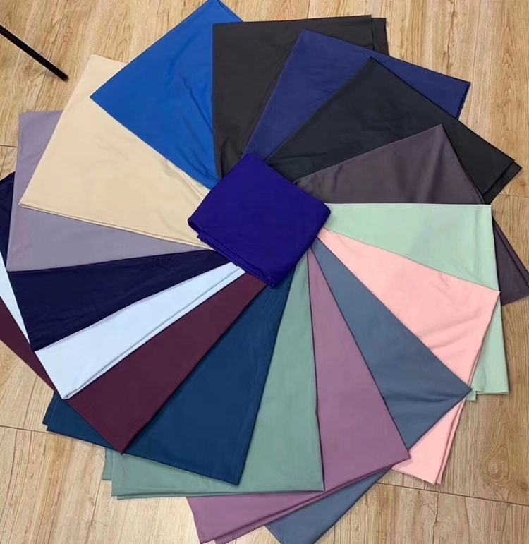 wholesale polyamide elastande lycra naked feel yoga leggings fabric