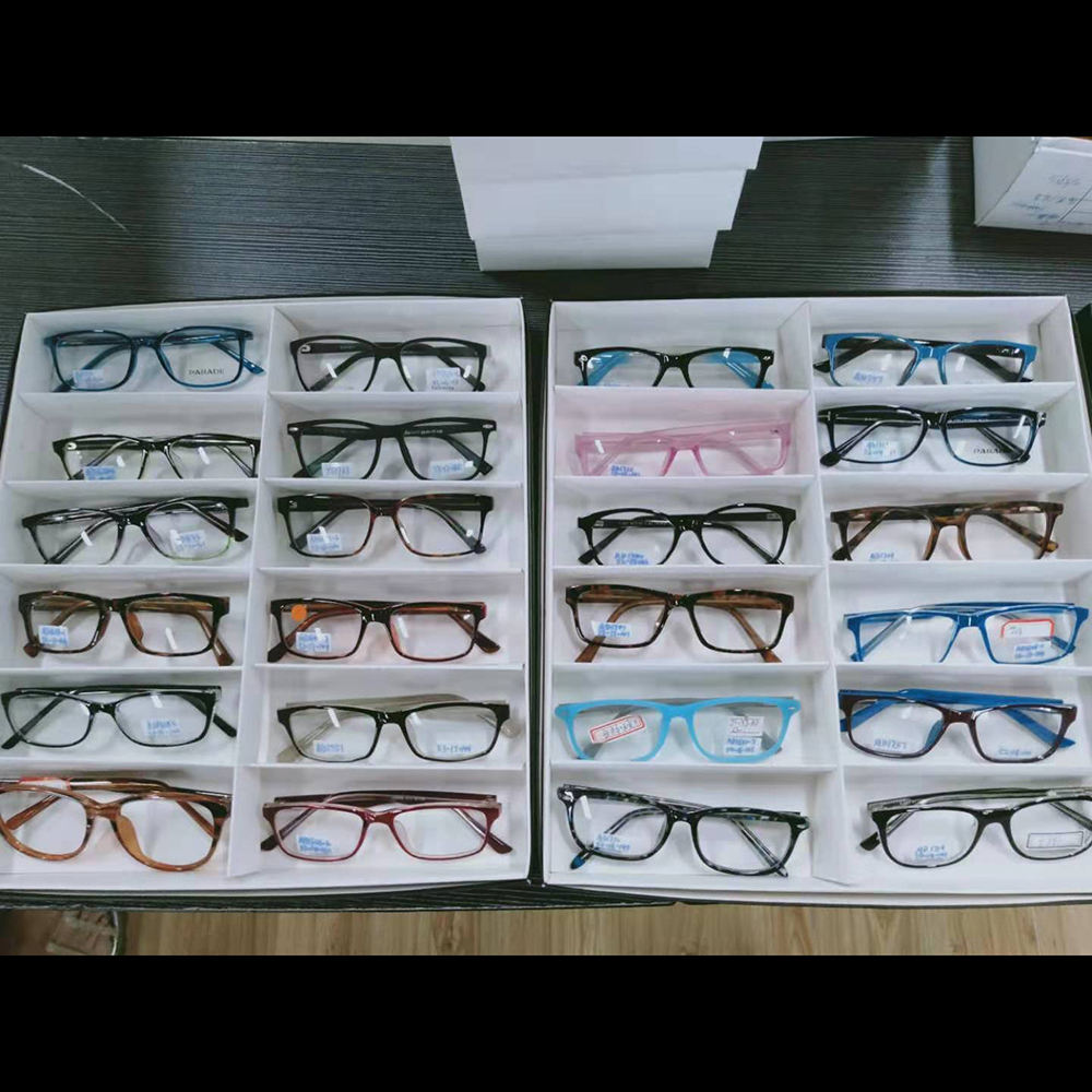 Ready to ship Stock clearance CP injection optical eyeglasses frames Mix models colors random