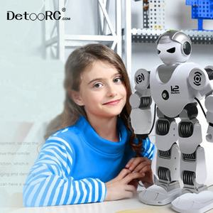 Detoo intelligent Humanoid programming robert toys with shooting remote control educational robertic Alpha smart robot