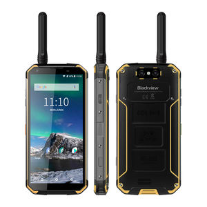 Blackview BV9500 Pro 10000mAh 5.7 Inch IP68 Waterproof DMR Analog Walkie Talkie Android Phone NFC Handheld Intercom Mobilephone