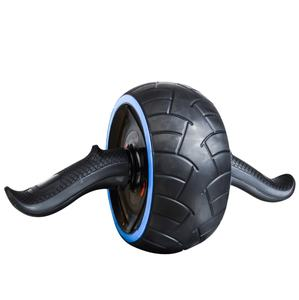 Home Equipment Abdominal Carver Ab Roller Wheel power roller Exercise with mat in color box