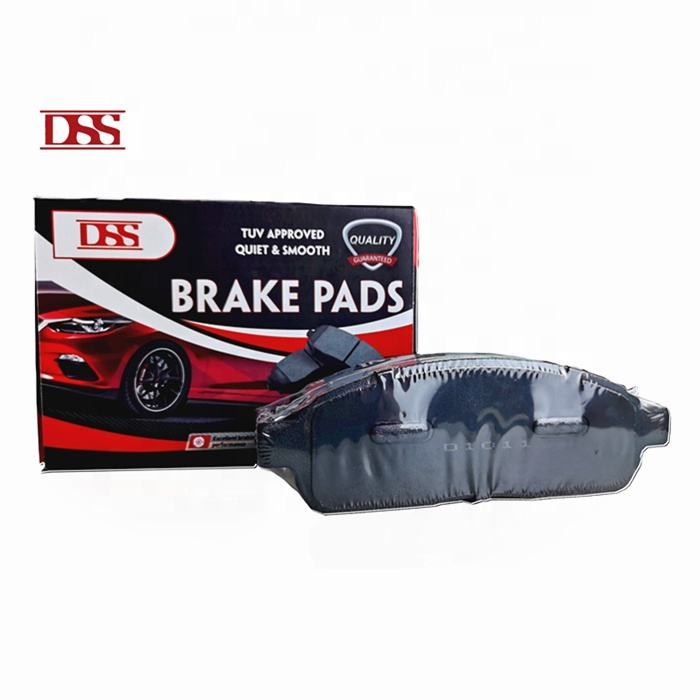 D1210 Wholesale break system auto car spare parts Pastillas de freno ceramic brake pad for Toyota Corolla