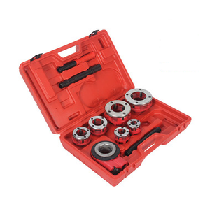 6 Size Dies Portable Manual Ratchet Pipe Threading Machine Kit 0.5