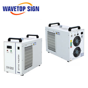 WaveTopSign S & A CW-5202DH 110V อุตสาหกรรม Air Water Chiller