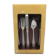 18/0 Stainless Silverware Flatware 20 Piece Beaded Fork Knife Spoon,Couverts set 20pcs Tableware Sets