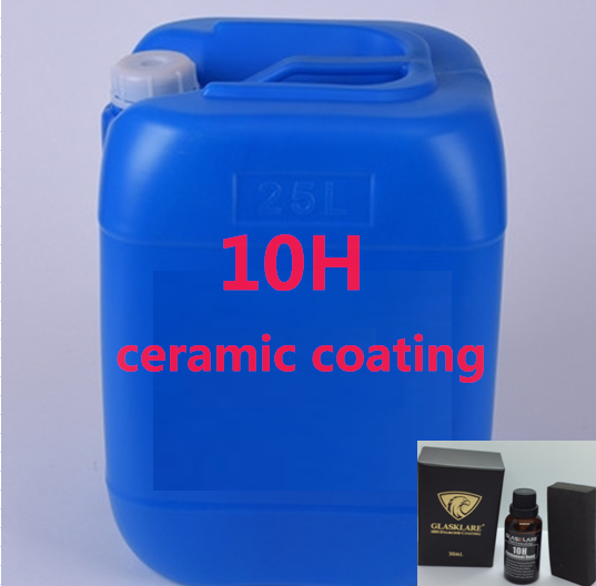 Auto keramische coating Super Hydrofobe anti-graffiti en UV diamant 10H permanente auto keramische coating