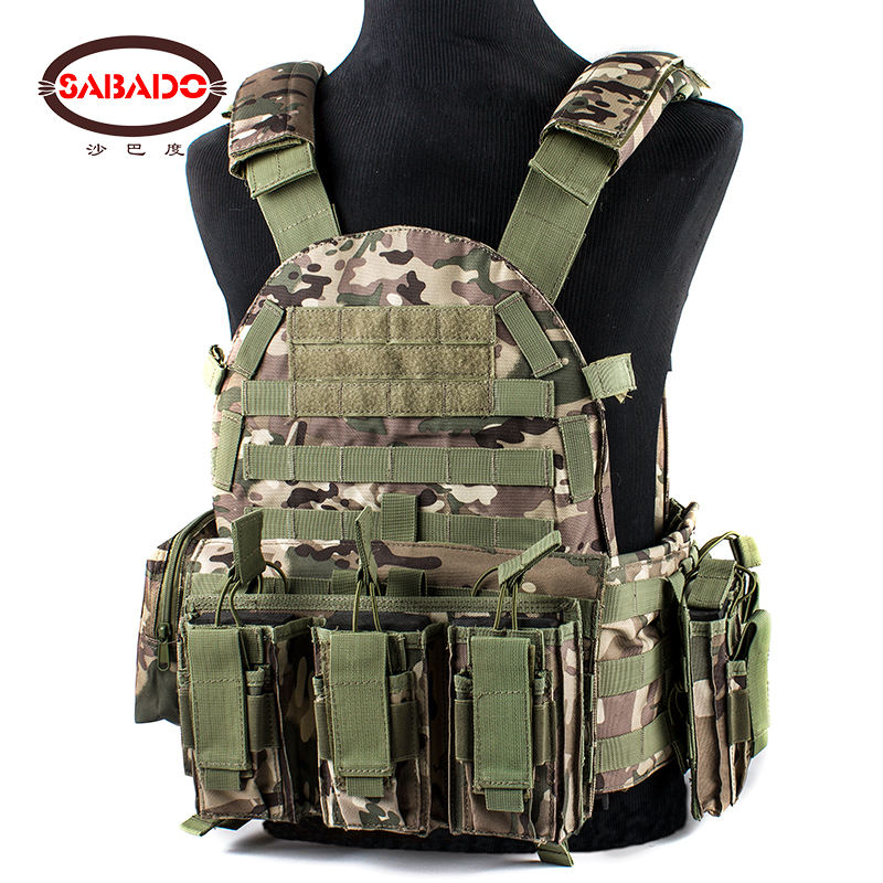 1000D nylon Customized Outdoor hunting Equipment Military tactical combat vest
