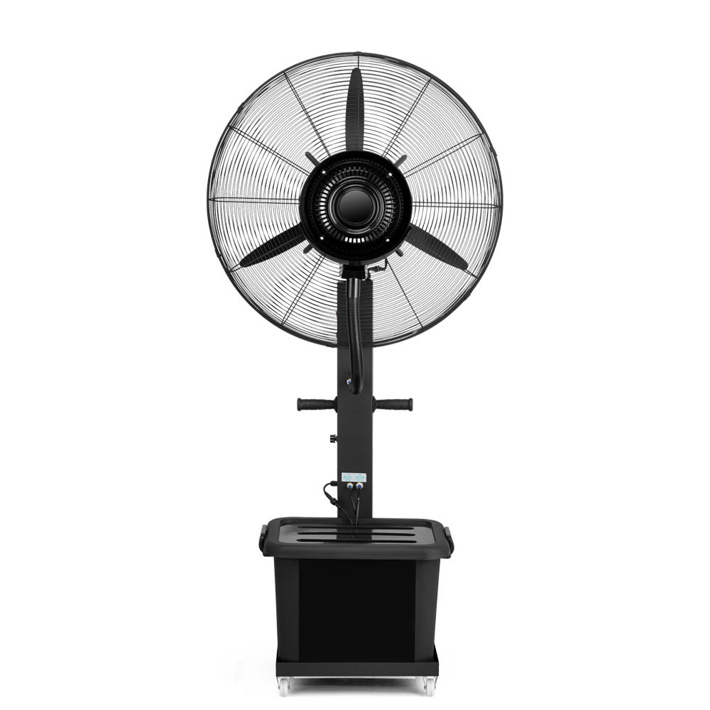 China Factory Direct Outdoor Stand Fan the Strongest Wind Industry Use Mist Water Spray Industrial Cooler Fan
