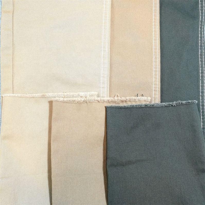 Самая низкая цена черный хлопкового материала на основе спандекса, выполнено в цветовой гамме тканые брюки из ткани