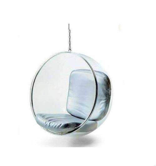 Swings space bubble chair vibrating transparent swing indoor cradle creative balcony glass basket wicker
