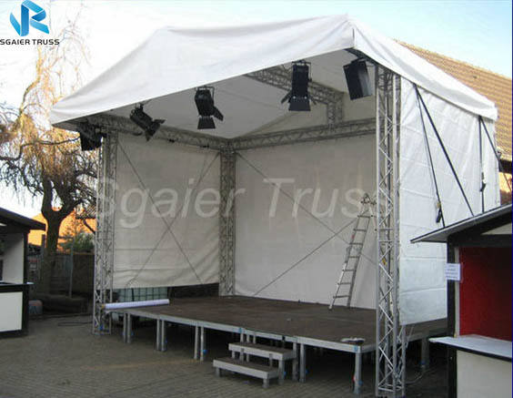 Hot sale portable aluminium outdoor concert stage