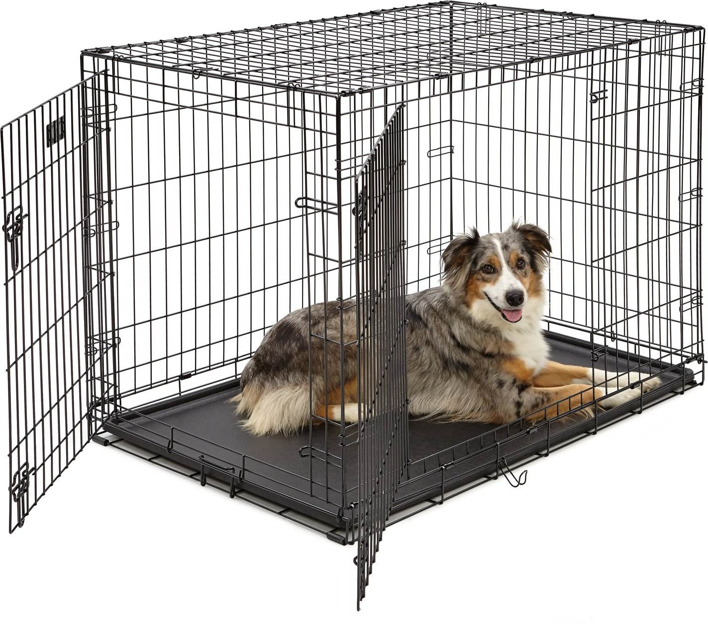 Welded Wire Mesh Double Door Iron Cage Cheap Pet Kennel Dog Cage