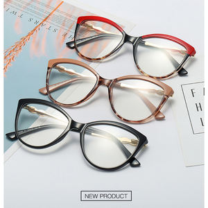 Tr90 plastic spectacle eye glasses frames eyewear for women