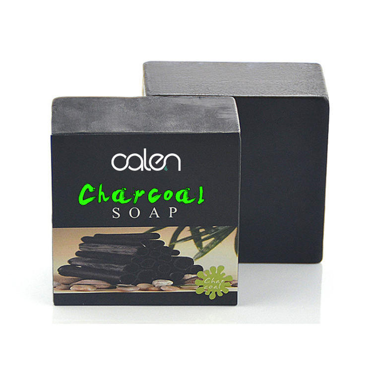 Private Label Oil Control Rich Foam Bamboo Charcoal Handmade Soap