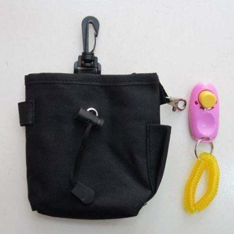 cheap dog training bag FREE CLICKER treat pouch rapid rewards from Anhui