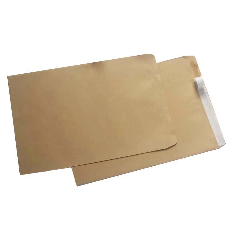 2019 Hot Casca E do Selo de Papel Kraft Envelope DL Manila Envelope de Papel De Alta Qualidade