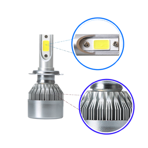 Hot Sale car accessories led headlight Compatible products C6 9V-32V 36W 3600LM Led headlight bulbs for car H4/H7/H13/9005/9006