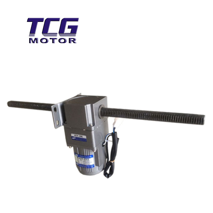 TCG double shaft AC Electric liner asynchronous motor factory directly