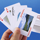wholesale oem blank plastic pvc custom printing playing cards front and back poker game