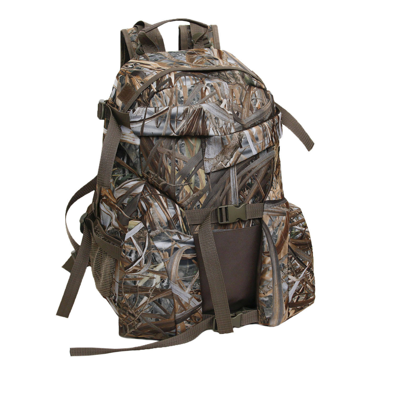 New Arrival Large Capacity Multifunction Hunting Camo Backpack With Handle And Gun Support Pouch Hunting Backpack