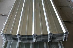 gi metal roofing sheet corrugated steel material for construction