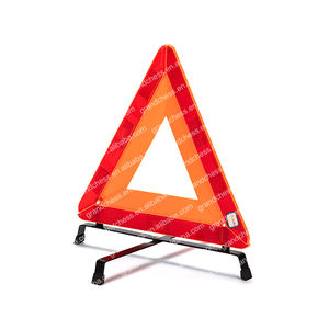 Safety reflective car triangle warning sign emergency warning triangle