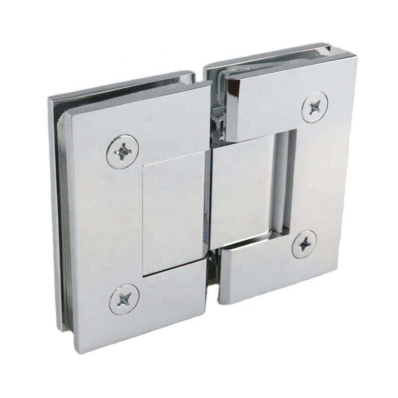 Manufacturer Wholesale High Quality 180 Degree Glass to Glass Brass Shower Glass Door Hinge
