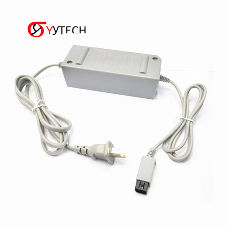 SYYTECH EU/US Plug Replacement Wall AC Power Adapter Supply Cord Cable For Nintendo Wii Console