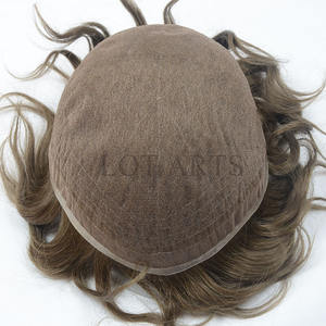 stock toupee 8x10 6inch human hair stock toupee full swiss lace toupee for men