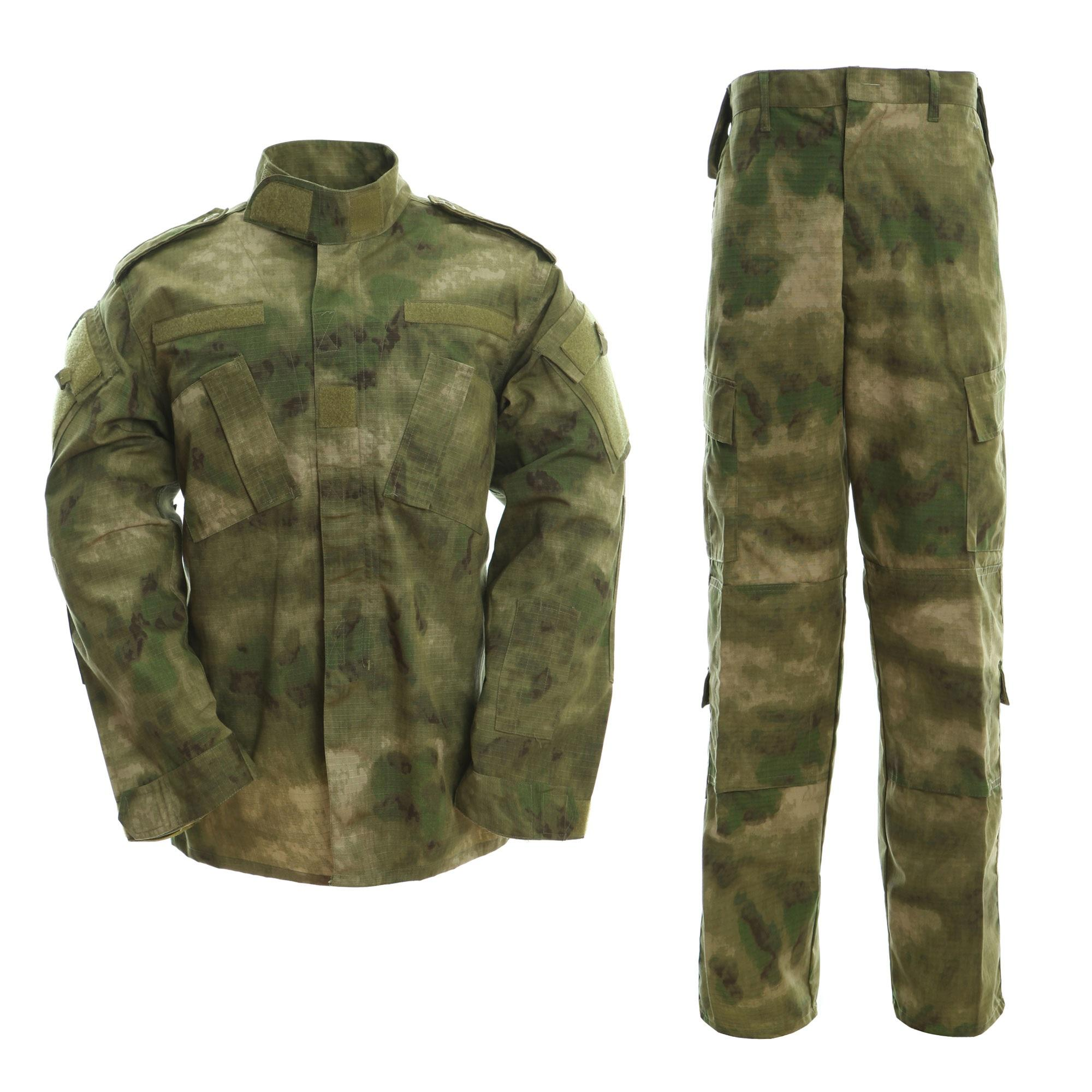Loveslf A-TACS-FG high quality military uniform army camouflage training clothing