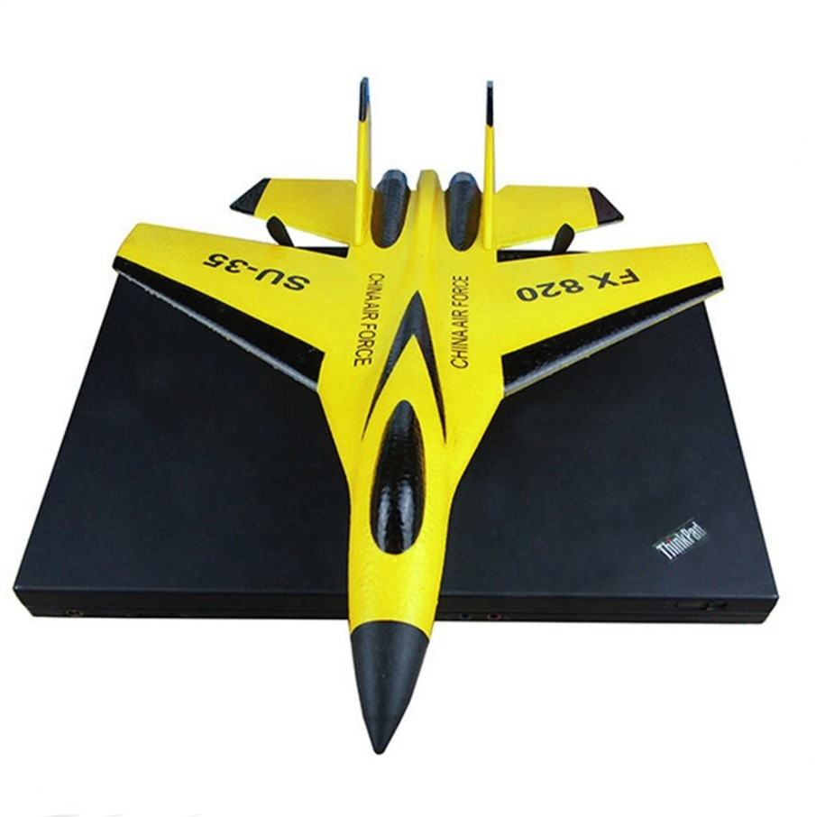 2020 Hot Selling FX820 Glider FX-820 SU-35 RC Airplane 2.4G 2CH Fixed Wing EPP Foam Outdoor Radio Control Toys Gift RTF