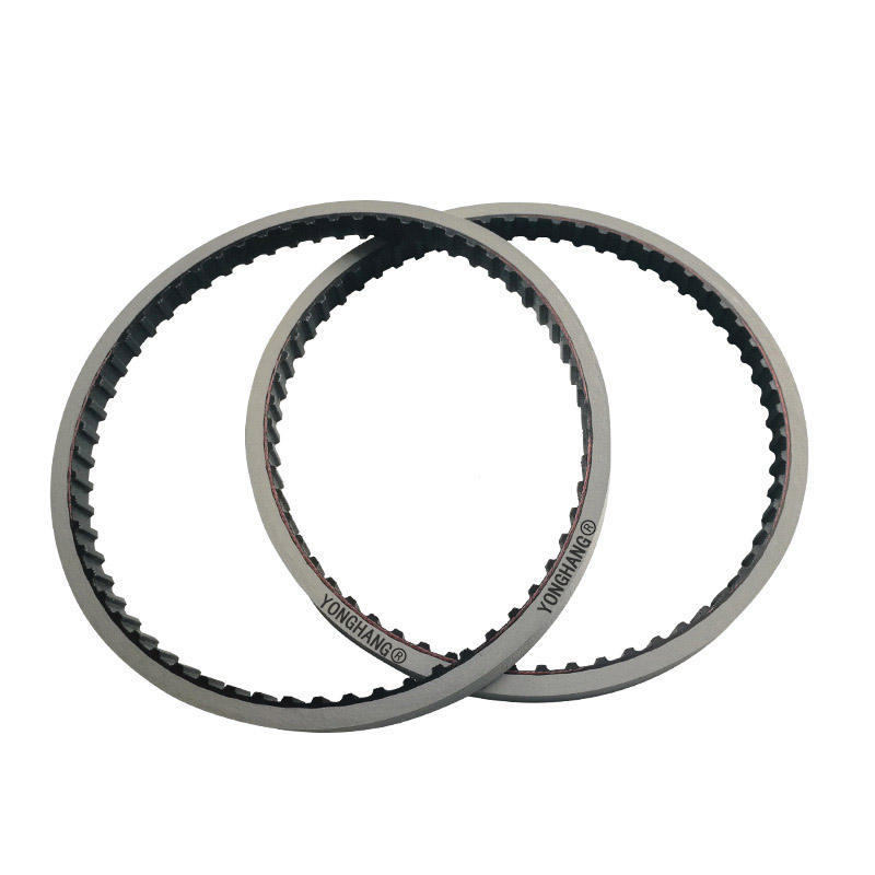 Seamless Jointed Tooth Rubber Material Conveyer Timing Belts for Packing Machine Pull Belts