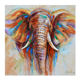 Hot Sales Elephant Oil Painting Art On Canvas