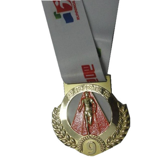 custom miniature 3d gold award medal with your own medal