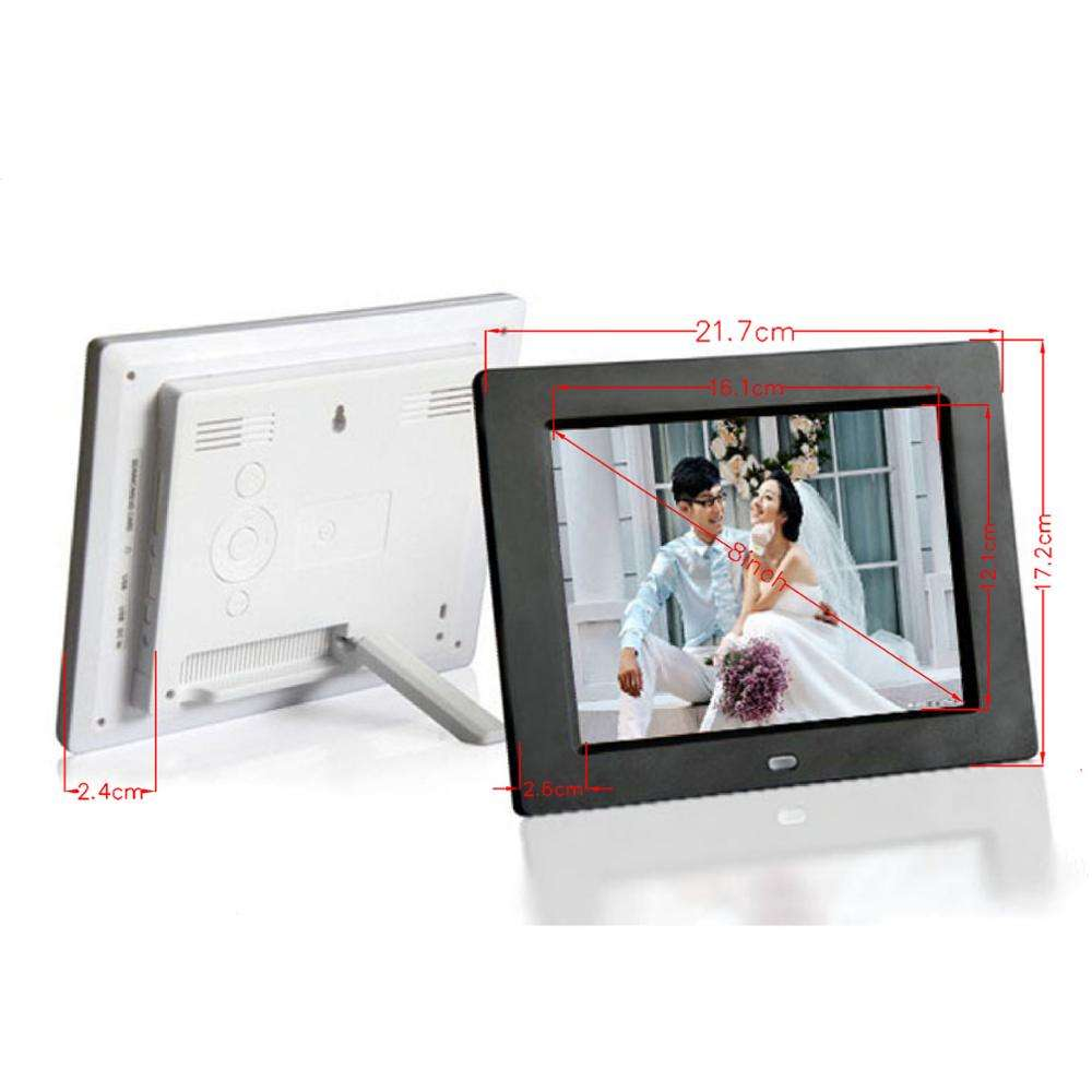 "8"" inch small digital advertising media LCD display SD USB player cheapest price"