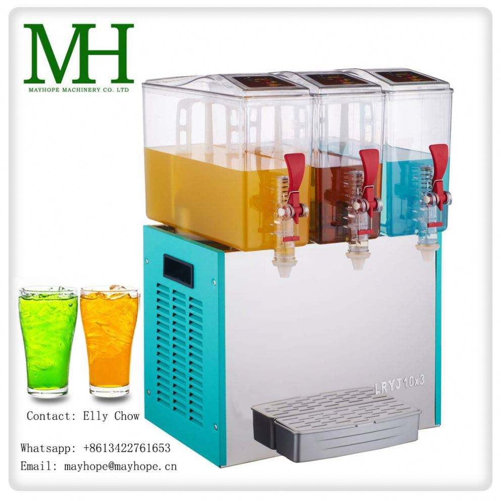 Custom plastic packaging bag in box juice dispenser with valve
