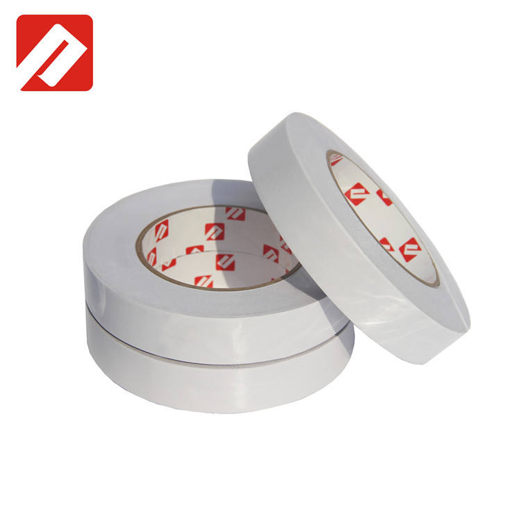 Hot melt double side stick tissue paper double sided non-woven paper tape