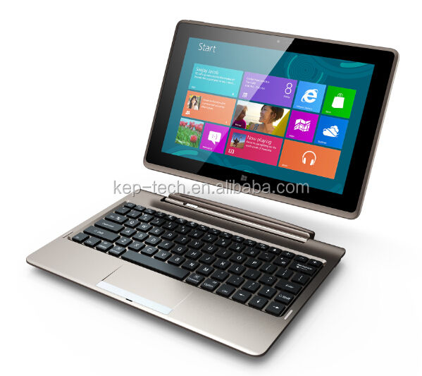 Fabbrica di produzione di 10.1 ''windows 2in1 <span class=keywords><strong>tablet</strong></span> <span class=keywords><strong>pc</strong></span> 4 + 64GB