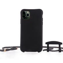2020 Hot Sale Top Manufactory Modular Necklace Phone Case Strap Silicone Phone Cover For Iphone For Samsung