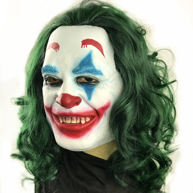 Newest Hot Halloween Costume Crown Man Woman Joker masks for party decoration