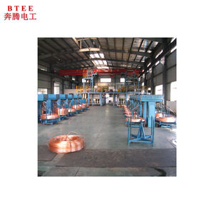 Fully Automatic Wire Drawing Machine Copper Rod Making Machine