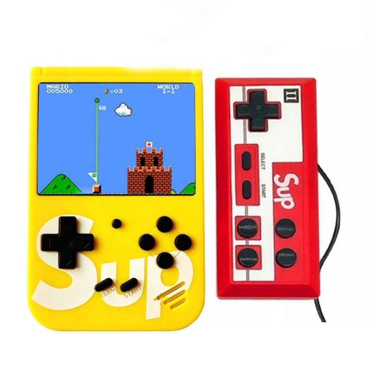 2020 Wholesale Retro 8 Bit Video Game Console Double Player Game 400 in 1 handheld game console