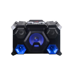 LINGE 8 Inch * 1 100W Indoor Sound Karaoke Speaker Portabel Loud Speaker dengan Mega Bass dan USB Kartu reader Home Theater