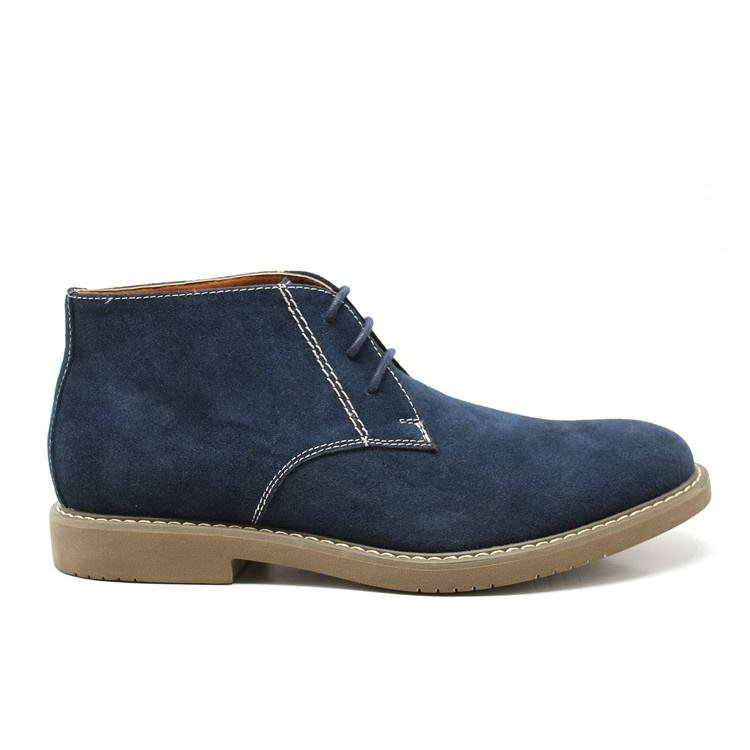 2020 Jasonstar Men's Cow suede Leather Chukka Boots High Quality leather shoes mens suede boot