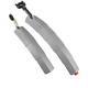 2020 new design bicycle fender with light foldable bike mudguard high quality