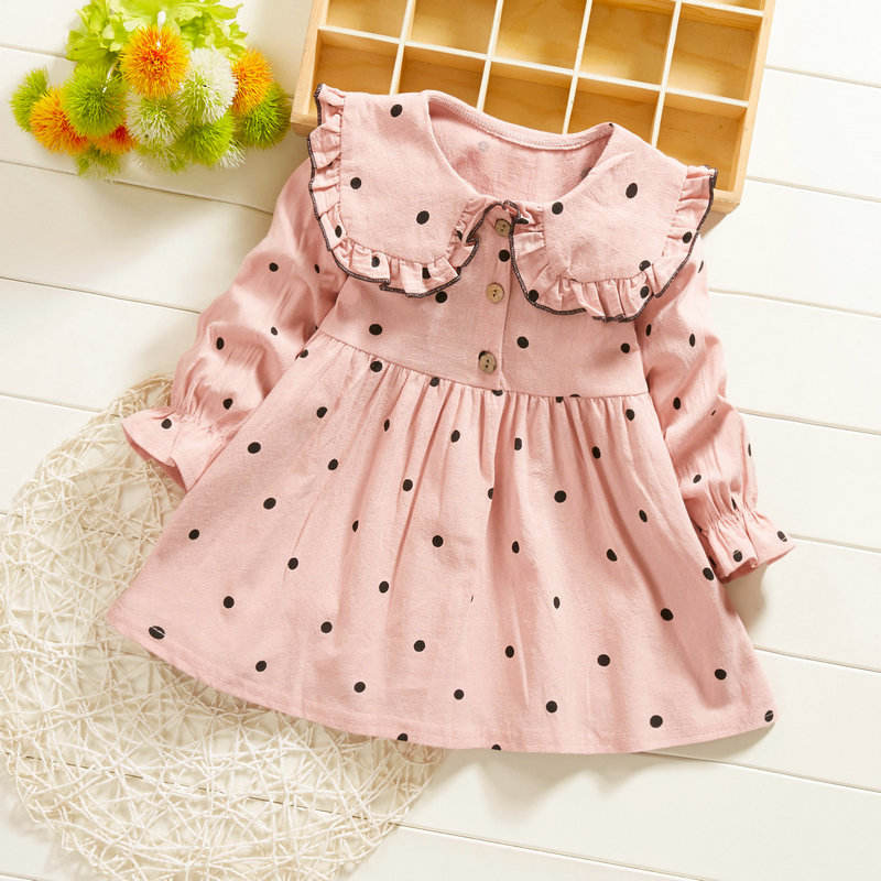 Hot Selling Pretty Baby Frock 12 Month 1 Year Old Girl Clothes First Birthday Cute Party Dress